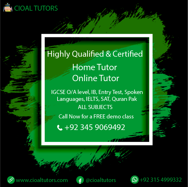 Home tuition in Lahore Johar Town