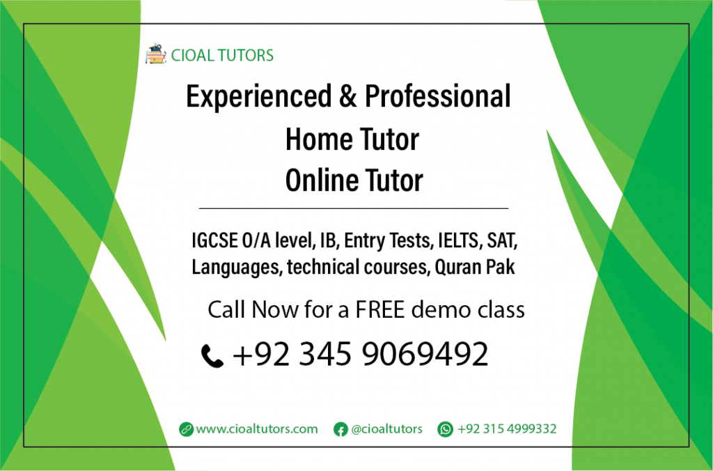Home tuition in Lahore Defence